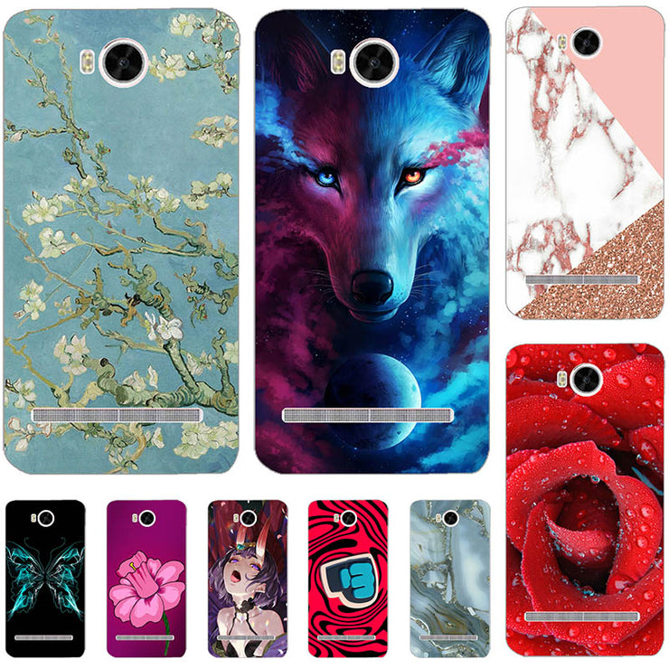 Lovely Fashion Coloured Painted Cases For Huawei Y3II Case