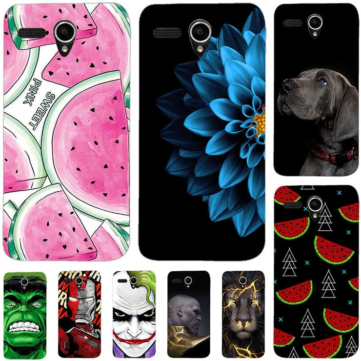 pretty nice 40168 f2ba0 Lovely Fashion Phone Case For Lenovo A606 A 606 Soft Silicone Back Cover  For Lenovo A606 Original Printed Cute Animal Phone Case