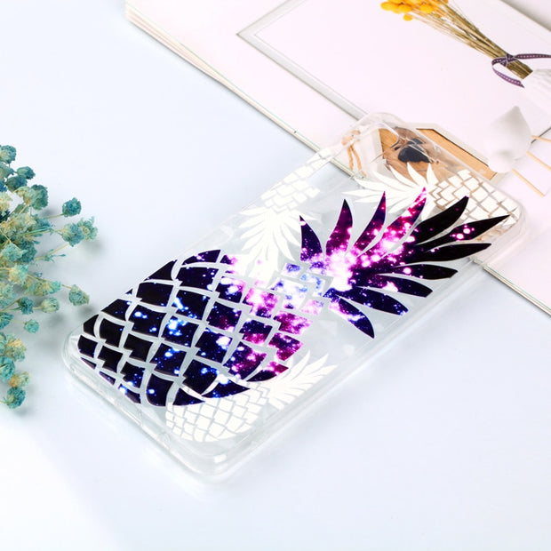 Luxury 3D Relief Varnish Diamond Pattern Phone Soft Silicone TPU Case Cover Hull Shell Coque Fundas For Samsung Galaxy A7 2018