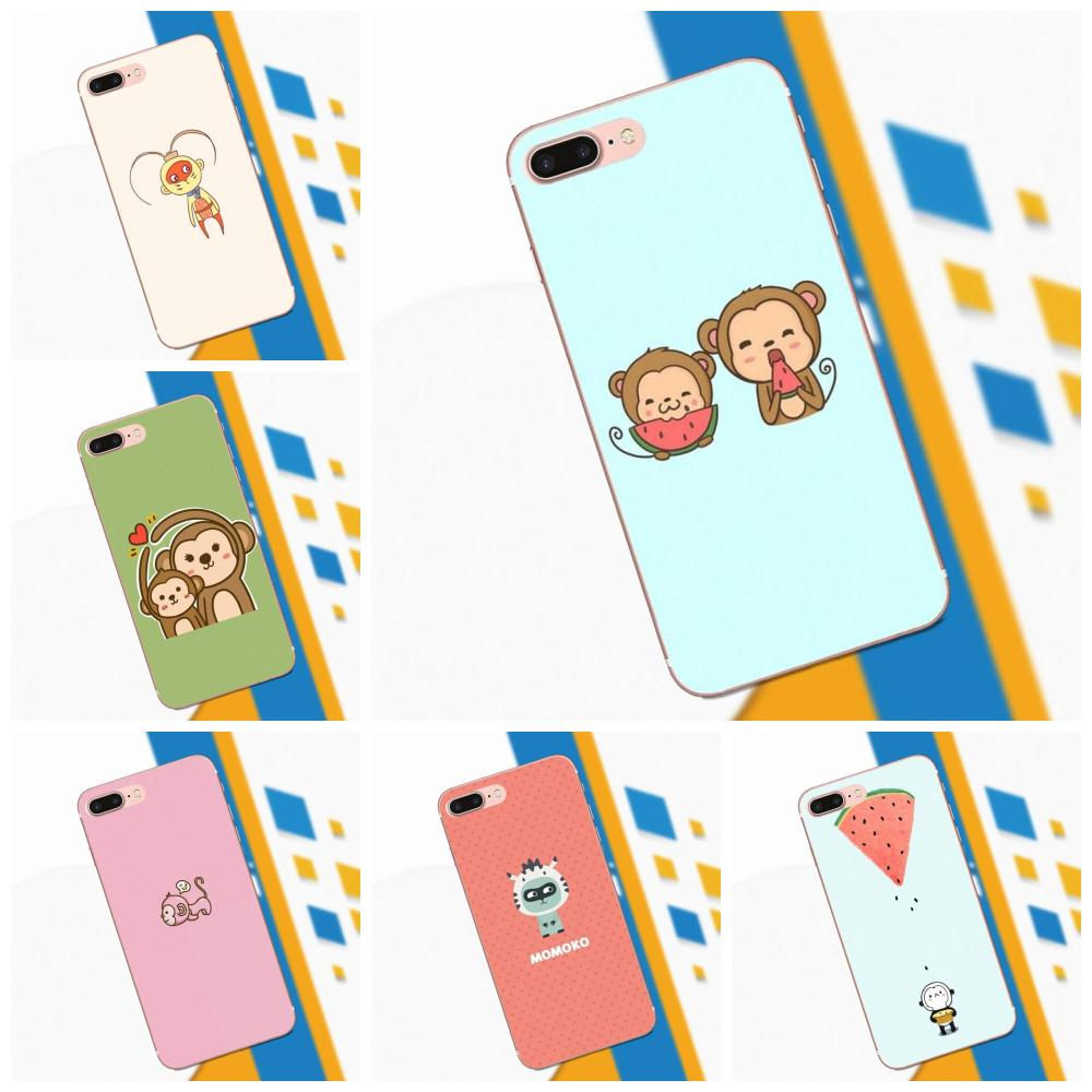 Luxury High-End Phone Case For Xiaomi Redmi Note 2 3 3S 4 4A 4X 5 5A 6 6A Pro Plus 2019 Cartoon Monkey Second Series