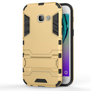 Luxury Hybrid Dual Heavy Duty Hard Silicone Iron Man Shield 3D Armor Cases For Samsung A3 A5 A7 2017 A320 A520 A720 Cover Capa