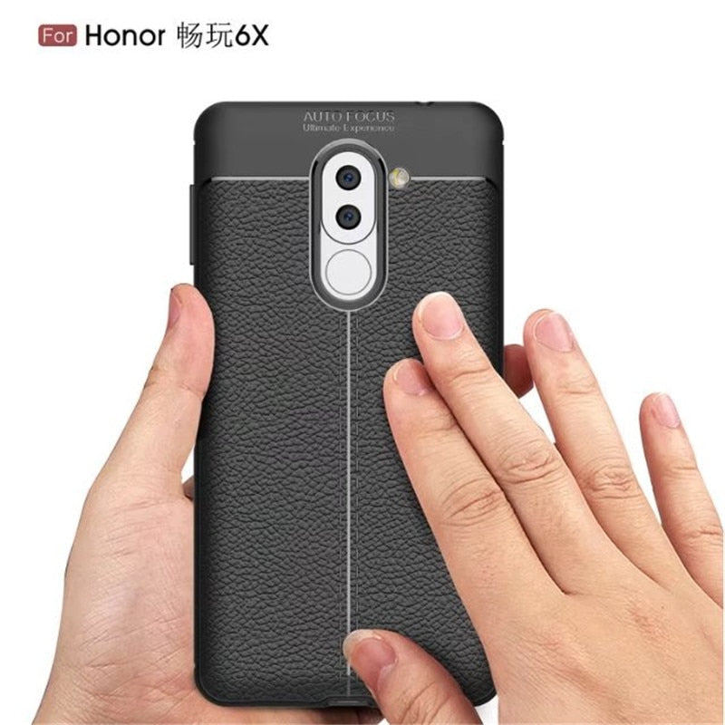 Luxury Phone Case For Huawei Honor 6X Case ELAIDE Slim Soft Silicon Phone Back Cover For Huawei Honor 6X Cover Honor 6X Cases