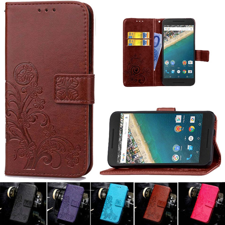 Luxury Retro Phone Cases For Google LG Nexus 5X Cover Coque Wallet Flip Leather Case For LG Nexus 5x Nexus5x Phone Bags