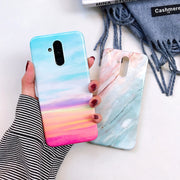 Luxury Silicone Soft TPU Cover Phone Casing Glossy Marble Case For Huawei Mate 20 Lite P20 Pro Nova 3e 3i Coque Fundas