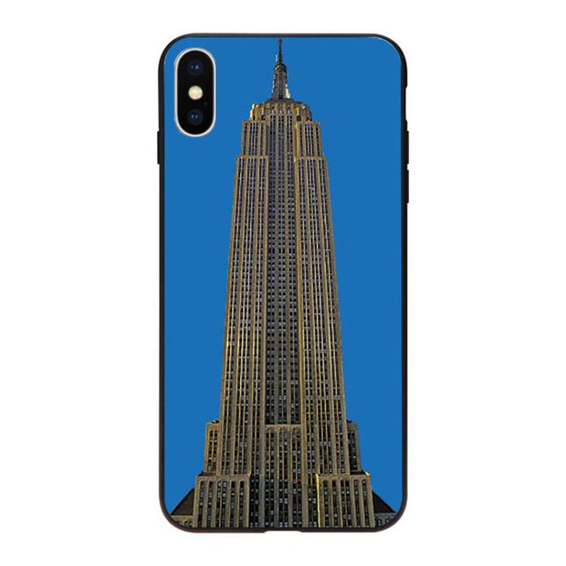 MaiYaCa Empire State Building Phone Case For Apple Iphone 5 5s SE X XS XR XSMax 6 6s Plus 7 7plus 8 8plus Coque Cover