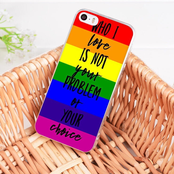 iphone xs max case lgbt