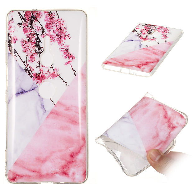 Marble Stone Granite Cases For Sony Xperia XZ3 Case Silicone Soft Back Phone Case For Sony Xperia XZ3 Dual 6.0inch Cover Coque