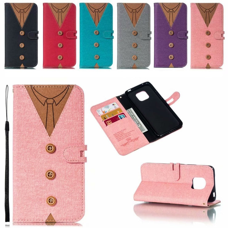 Mate20 Cloth Flip Case For Huawei Mate 20 Pro Lite Case PU Fabric Cover 3 Card Slot Wallet Pouch For Huawei Mate 20Pro Fundas