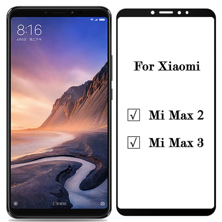 Mi Max 3 Glass For Xiaomi Mi Max 3 2 Tempered Glass Case On Xiomi Xaomi Xiami Mi Max3 Max2 Glas Screen Protector Protective Film