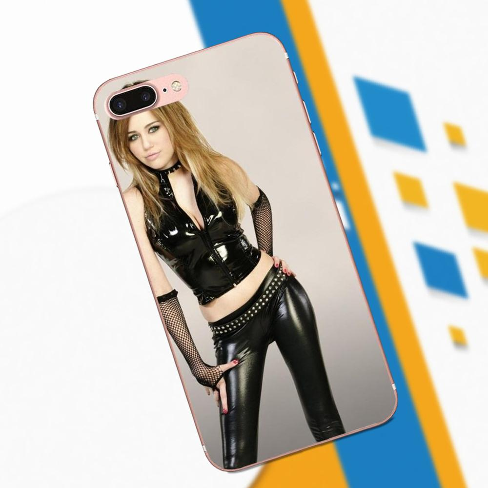 Miley Cyrus For Galaxy A3 A5 A7 On5 On7 2015 2016 2017 Grand Alpha G850 Core2 Prime S2 I9082 Pattern Hard Phone Case