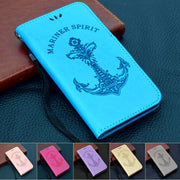 Milyssi Case For Samsung Galaxy J2 Pro 2018 Case Wallet PU Leather Case For Samsung J2 Pro 2018 J250F Flip Protective Cover Bag