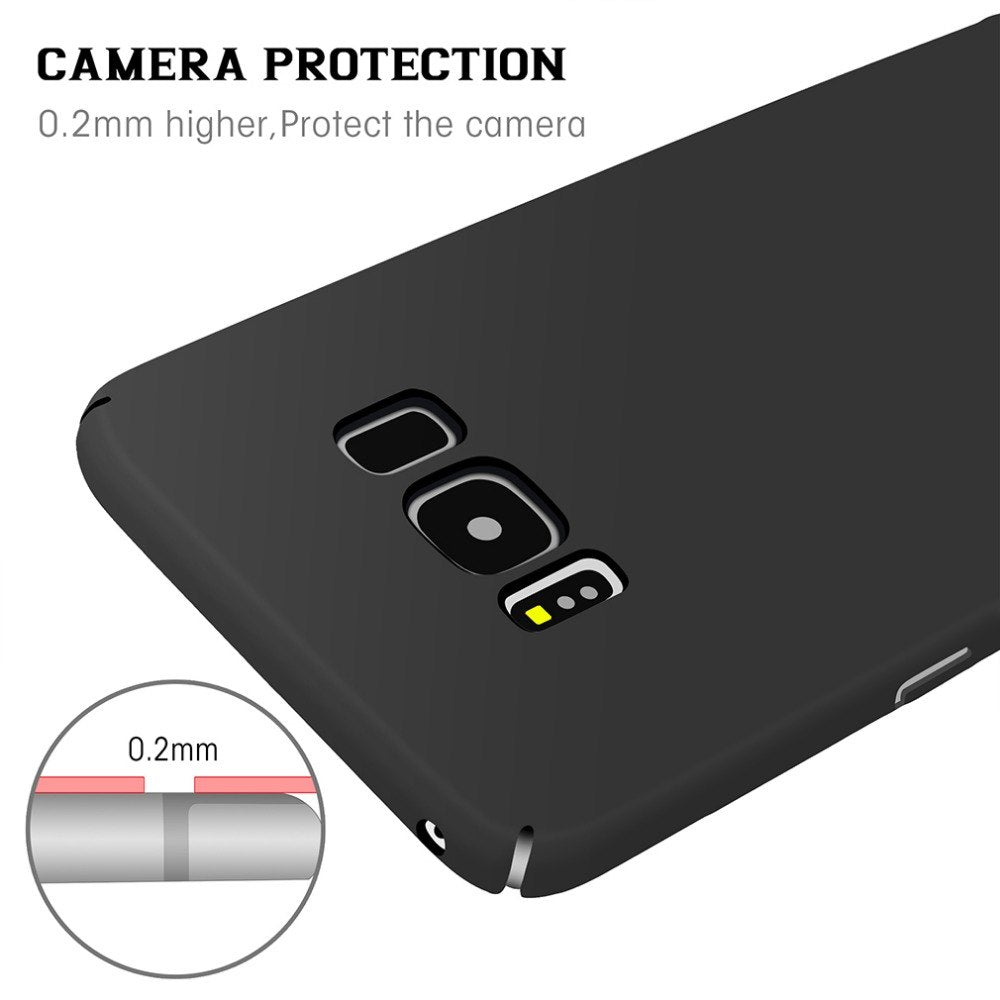 New Case For Samsung Galaxy S8 Back Cover Plastic Phone Bag Case 360 Degree Ultra Thin Hard PC Luxury For Samsung S8 Plus