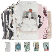 New Cute Pattern Flip Leather Phone Case For Asus Zenfone Max Plus M1 ZB570TL Cover Case For Asus Zenfone Max Plus M1 ZB570TL