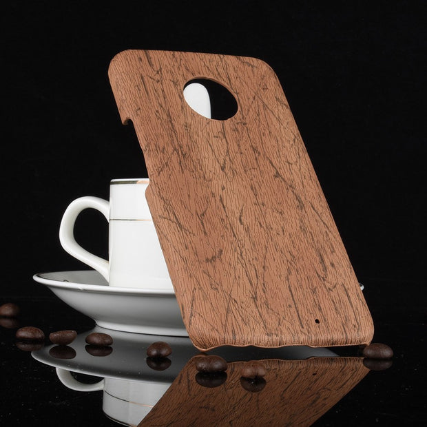 New For Motorola Moto X4 Case Moto X (4th Gen.) Wood PU Leather PC Hard Cover For Motorola Moto X4 XT1900-5/7/2 Phone Case