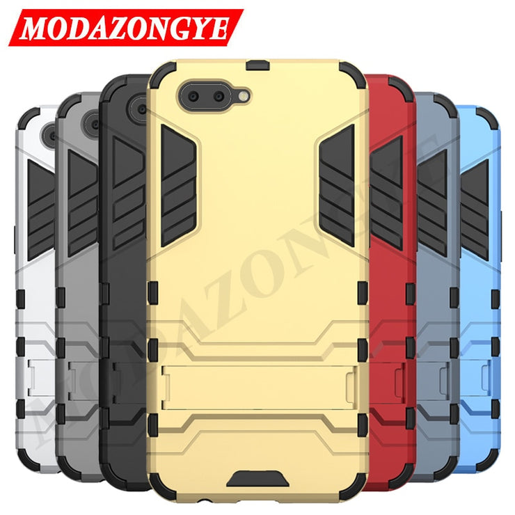 uk availability 32950 c691b OPPO A3s Case OPPO A3s Case Armor TPU Silicone Hard Phone Case For OPPO A3s  CPH1803 CPH1805 OPPO A 3S OPPOA3s Case Back Cover