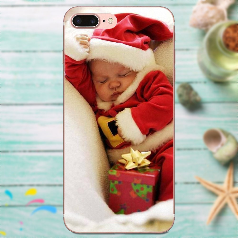 Phone Bags & Cases Cute Christmas Gifts Santa Claus Snowman For Galaxy J1 J2 J3 J330 J4 J5 J6 J7 J730 J8 2015 2016 2017 2018 Mini Pro Half-wrapped Case