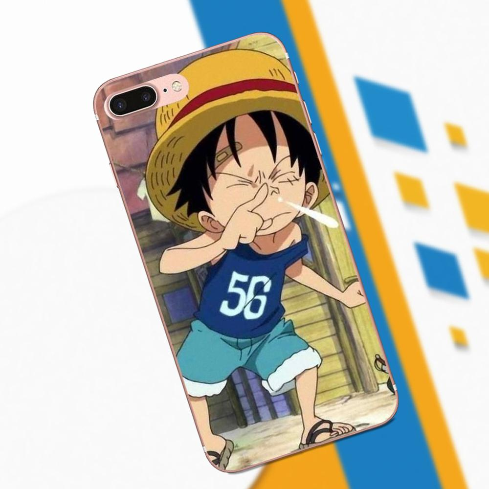 buy popular 9f90f 315ff One Piece Anime For Sony Xperia Z Z1 Z2 Z3 Z4 Z5 Compact Mini M2 M4 M5 T3  E3 E5 XA XA1 XZ Premium Soft Cool Best