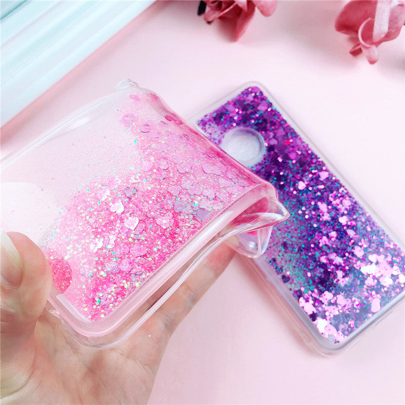 P20 Lite Quicksand Phone Case On For Huawei P 20 Lite P20 Pro Capa Dynamic Liquid Soft Silicone Back Cover For Huawei P20 Fundas