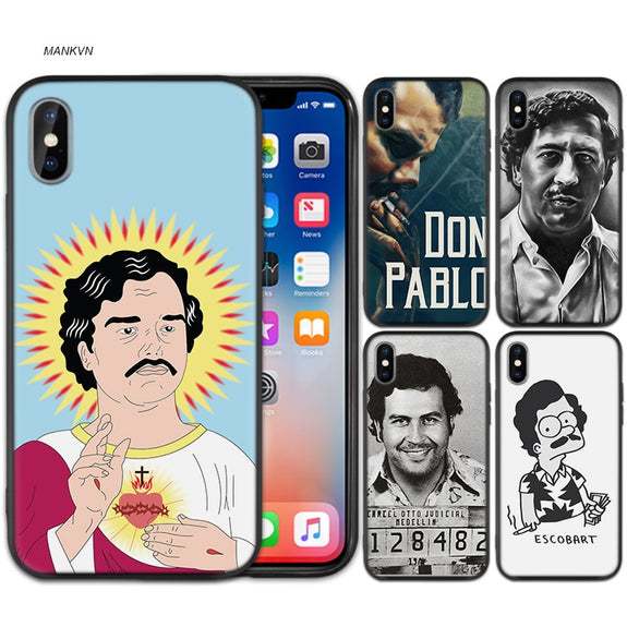 coque iphone xr pablo escobar