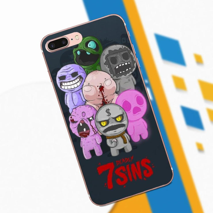Phone Case Game The Binding Of Isaac For Apple IPhone 4 4S 5 5C 5S