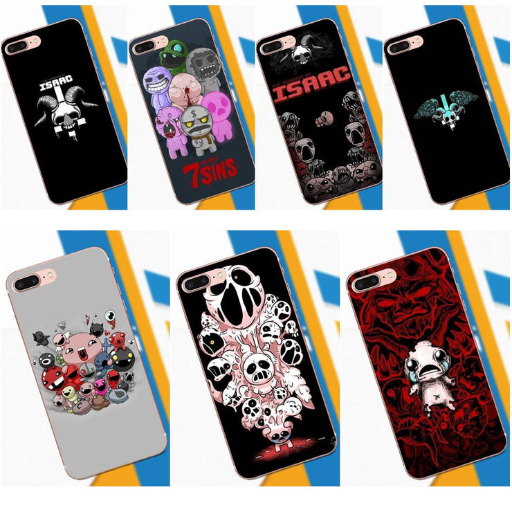 Phone Case Game The Binding Of Isaac For Apple IPhone 4 4S 5 5C 5S SE 6 6S  7 8 Plus X XS Max XR