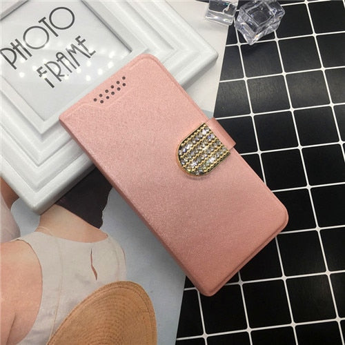 Phone Cases For Motorola Moto C XT1750 XT1754 XT1755 Case Leather Wallet Stand Card Holder Phone Cover Holster