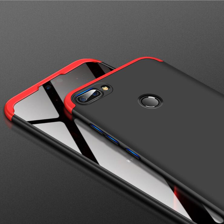 Phone Case For Huawei Mate 20 10 Lite 3 In 1 Case Ultra Thin Luxury 360 Full Protect Hard PC Phone Cover For Mate 9 10 Pro