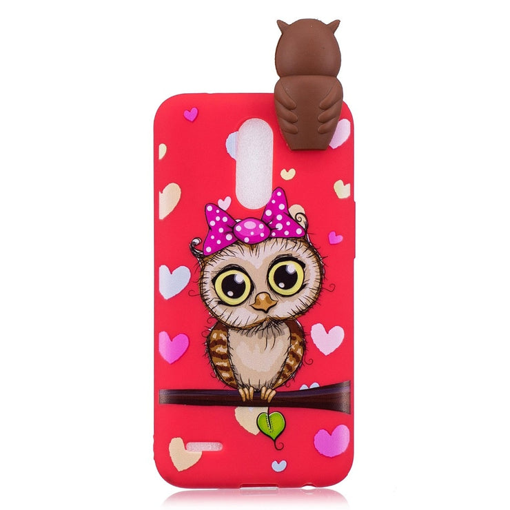 Protective Soft TPU Back Cover Case For LG K4 K8 K10 2017 Shockproof Painted Cute Cartoon Case For LG K4 K8 K10 2017