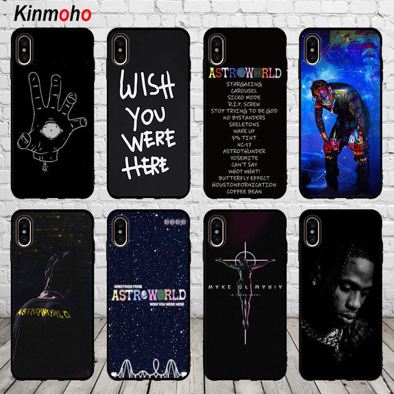 coque iphone x travis scott