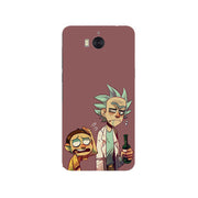 Rick And Morty Cartoon Soft Silicone Painting Case For Huawei Y5 2017/Y5 III 3/Y6 2017/Nova Young Phone Printed Skin
