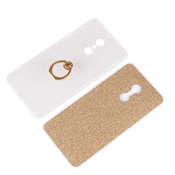 Ring Luxury Case For Xiaomi Redmi Note 4 4X Note4 Pro Glitter Back Cover Metal Holder Stand Coque Funda Hoesje Etui Capinha Capa