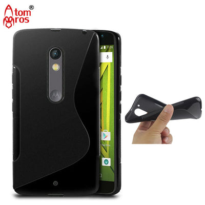 Rubber Soft Silicone TPU Cover Case For Motorola Moto X Play / Droid X Maxx 2 Case Cover Phone Cases Shockproof Gel Skin Shell