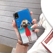Sexy Bikini Girl Quicksand Phone Case