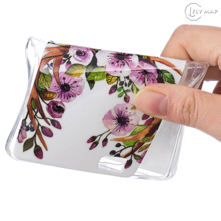 Shell Cover For Huawei P8 Lite P8Lite ALE-L21 ALE-L23 Soft Silicone Floral Protect Cover For Huawei P 8 Lite ALE L21 L23 Case