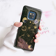Shining Saturn Glitter Soft Case For Huawei Mate 20 Pro Honor 8X Nova 3i 3e Honor 8 9 V10 Y6 Y9 2018 Enjoy 7s Mate 10 Lite Cases
