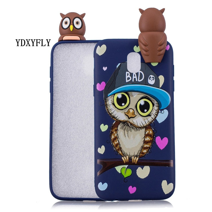 Shockproof Painted Cartoon Case For Samsung Galaxy J3 J5 J7 2016 Soft TPU Back Cover Case For J3 J5 J7 2017 EU J330 J530 J730
