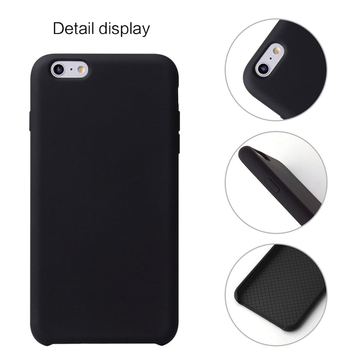 various colors baa11 ab06c Silicone Case For IPhone 6S Plus Case Luxury Soft TPU Plain Black  Shockproof Cover Coque For Apple IPhone 6 Plus Phone Case
