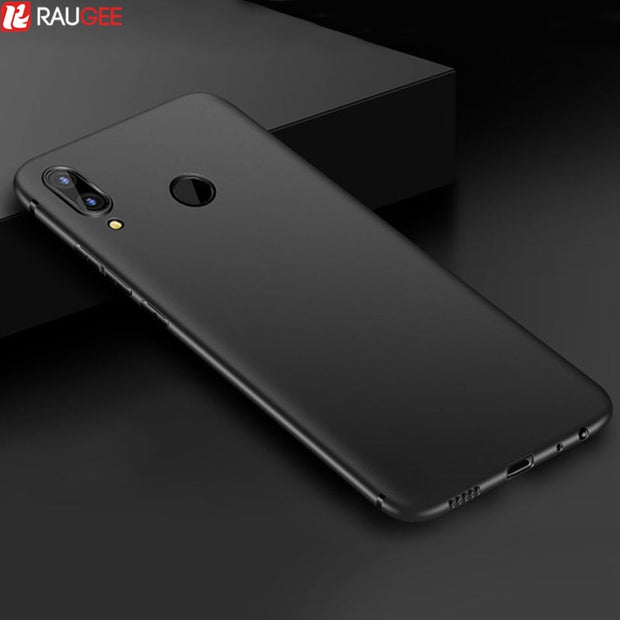 Silicone Cover For Huawei Honor 8X Case Slim Bumper Matte Soft TPU Back Cover Case For On Honor 8X Max Case Anti-slip Protection
