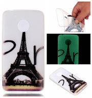 Slim Luminous New Brand Case For Motorola Moto G5 Silicone Phone Cover For Motorola Moto G5 Plus Back Case