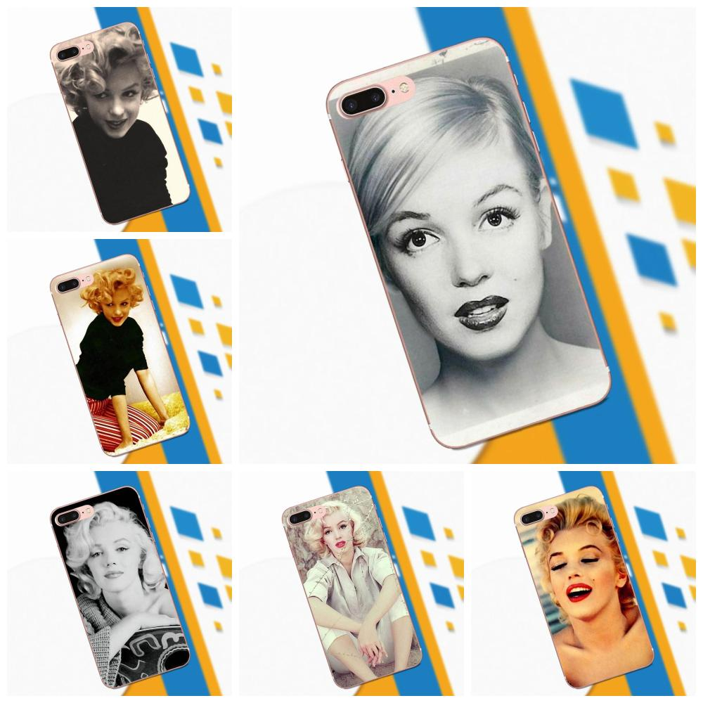 Slim Silicone Case For Xiaomi Redmi Note 2 3 3S 4 4A 4X 5 5A 6 6A Pro Plus Hybrid Marilyn Monroe