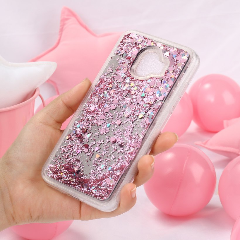 Soaptree Soft Tpu Phone Case Cover For Samsung J2 Pro 2018 Covers For J2 2018 Gand Prime Pro Glitter Liquid Dynamic Cases Fundas Phone Bags & Cases