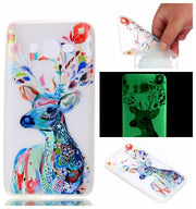 Soft Luminous Case Cover For Samsung Galaxy J2 Prime Fashion Soft Silicone TPU Back Cover For Samsung J2 Prime J532 Phone Case