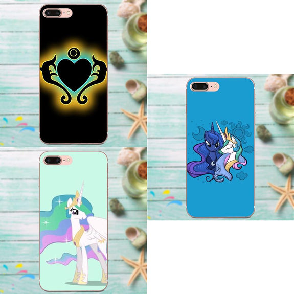 352ee0ea851d Soft New Style My Little Pony Princess Celestia Hard For Apple IPhone