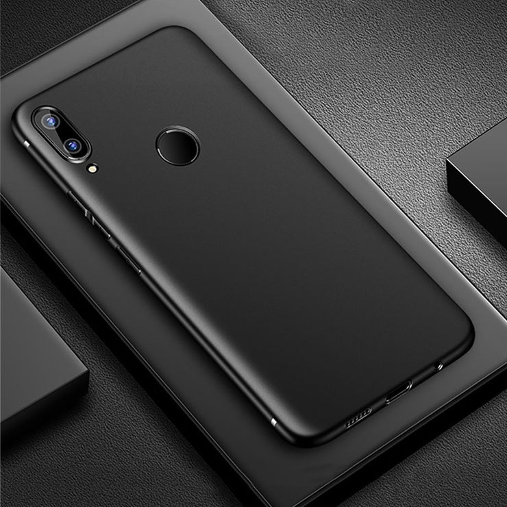 low priced bb8c3 4e564 Soft Silicone Case On Huawei Honor Play Cover Case For Honor Play Slim TPU  Bumper Phone Case For Honor Play Huawei Fundas Cover