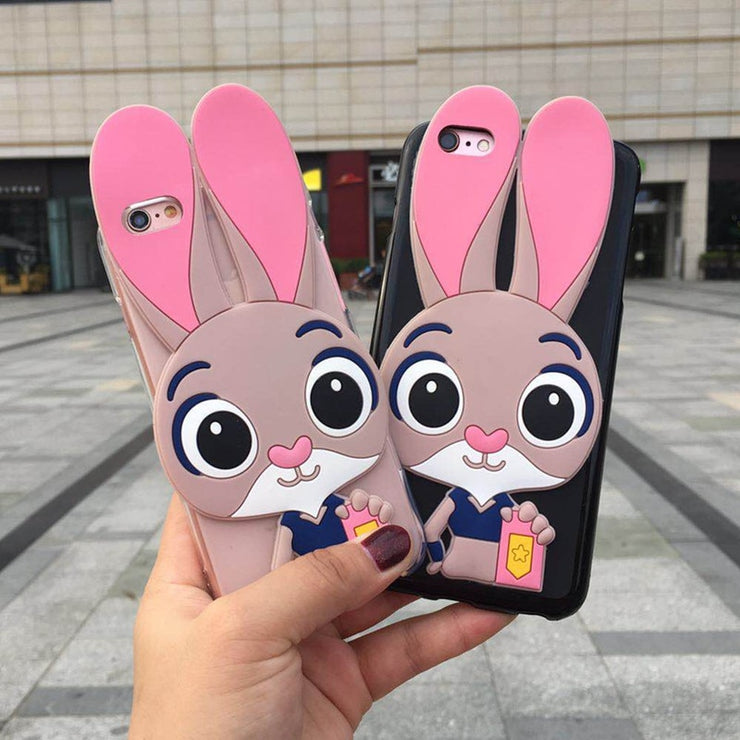 Soft Silicone Cover For Wiko Jerry Phone Case 3D Cartoon