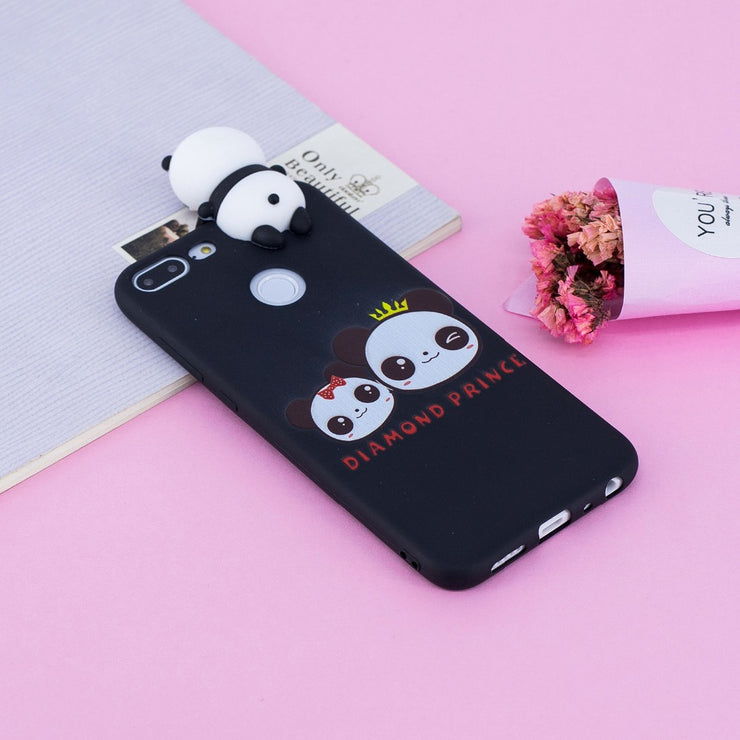 Soft TPU Back Cover Case For Huawei P8 P9 P10 Lite 2017 Shockproof Painted Cartoon Case For Mate10 Lite Honor 9 Lite Y5 2017