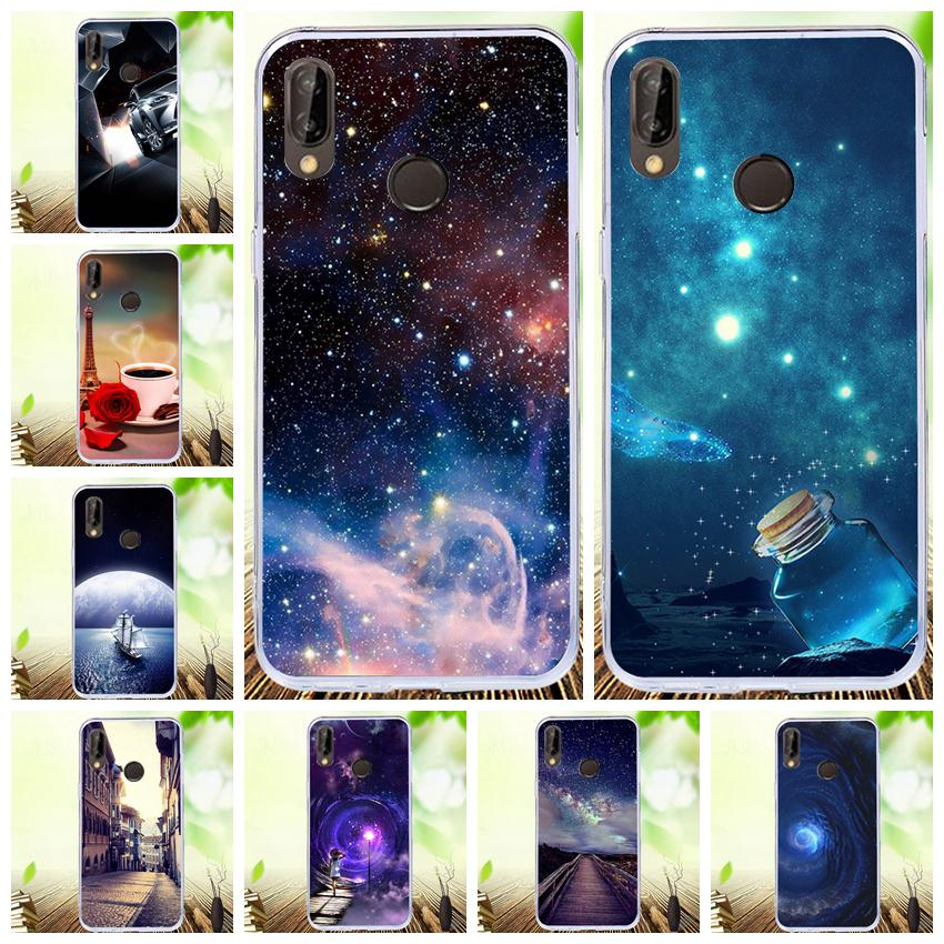 Soft TPU Case For Huawei Enjoy 5 5S 6S 7S 7 8 9 Plus Y6 Pro G8 Mini GR3 P Smart Y7Prime Y9 2018 2019 Colored Pattern Phone Cover