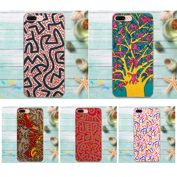 keith haring coque iphone 6