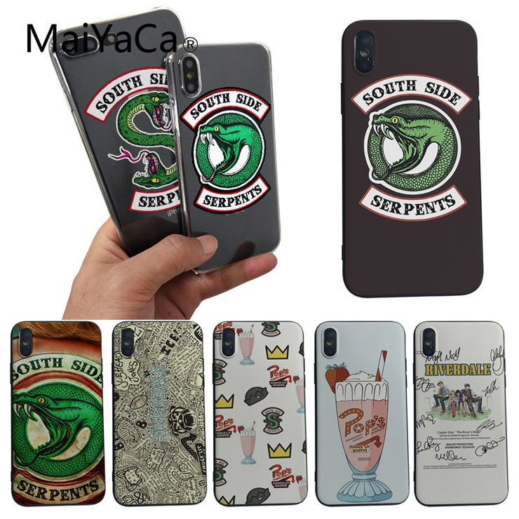 coque iphone 7 riverdale silicone