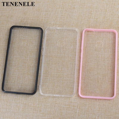 TENENELE Case For Huawei P10 Lite Cases Soft Clear Black Pink Silicone TPU Case Simple Cover For Huawei P10Lite Coque Phone Case